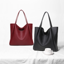 NMD 2019 top Soft Genuine cow leather female shoulder bag desiner Fashion Large totes luxury handbag Shopping  women bags