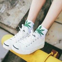 Short Socks Street-Boat Harajuku-Skateboard Hip-Hop Maple Women Mens Fashion