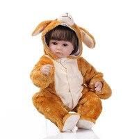 NPK 컬렉션 최신 비비 인형 다시 태어난 바디 아이 비닐 장난감 실리콘 다시 태어난 인형 아기 선물 Juguetes Brinquedos 개 모자