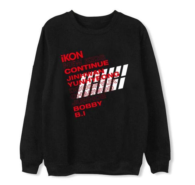 iKON New Kids Continue Print Loose Sweatshirt