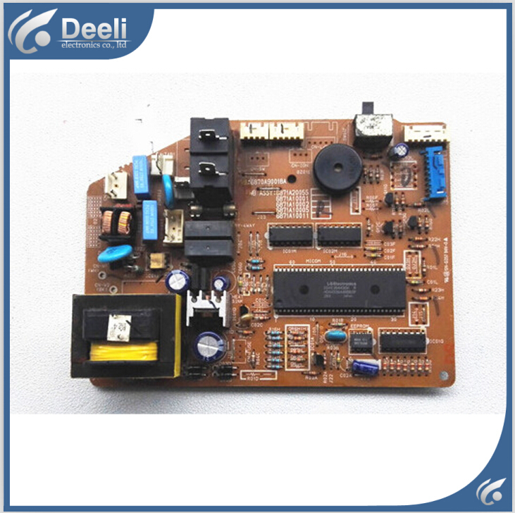 95% new good working for air conditioning 6870A90018A 6871A20055 control board on sale95% new good working for air conditioning 6870A90018A 6871A20055 control board on sale