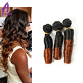 8A Unprocessed Real Indian Virgin Hair Bundles 3Pcs Bouncy Curly Ombre Hair Weaving Raw Indian Curly Human Hair Extensions