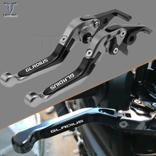 Motor accessrios 2018 Adjustable Motorcycle clutch Extendable Brake Clutch Levers for SUZUKI SFV650 GLADIUS 2009-2015 SV650 2016 цена