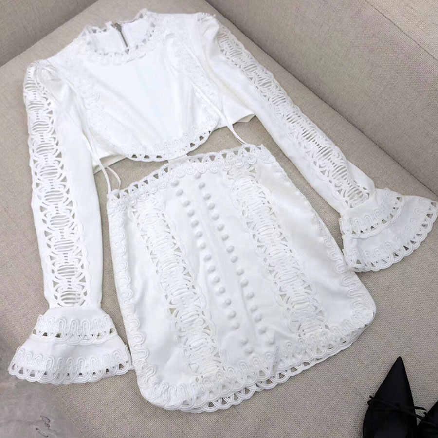 Новое поступление 2019, женское модное сексуальное мини-платье с длинным рукавом, кружевные вечерние платья с высокой талией, высококачественное платье для подиума Vestidos