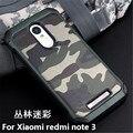 Обновление Ла caja дель telefono Для Xiaomi Redmi Note 3 высокая доставленных ТПУ камуфляж Телефон Чехол для Red rice hongmi note3