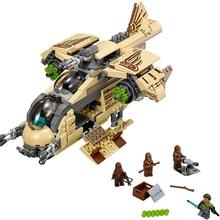 mylb New 569pcs Star Wars Wookiee Gunship Blocks Bricks Toys Set Boy Game Plane Weapon Compatible with diy