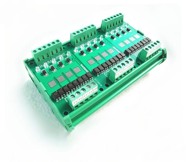цена на PLC control panel board 12-channel amplifier board output solid state relays