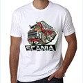 Saab Scania El Reino De Suecia Malmo camiseta Top de Lycra de Algodón Camiseta de Alta Calidad Digital de Inyección de tinta de Impresión de la camiseta de los hombres 2017