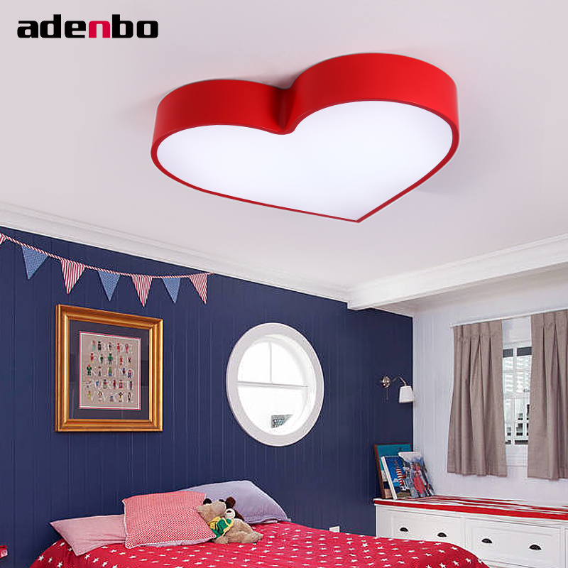 Creative Love Remote Control Heart Kids Ceiling Lights LED Ceiling Lamp Dimmable Lighting Blue 24W For Kids Bedroom стулья для салона led by heart 2015