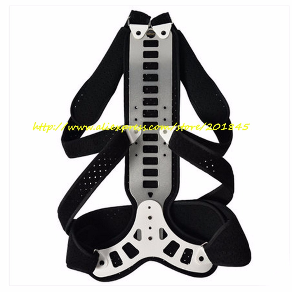 Adjustable Medical Clavicle Brace Posture Back Corrector Back Support With Stainless Steel Good Velvet For Back Pain Relief 1pcs inflatable back posture corrector and inflatable waist support brace improve bad posture