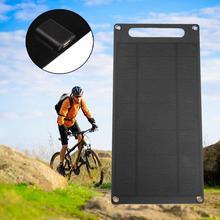 Новое Прибытие Высокого Качества 6 Вт Portable Путешествия Солнечная Зарядка Панели Зарядное Устройство Для Мобильных Телефонов Профессиональных Солнечные Панели Подарок