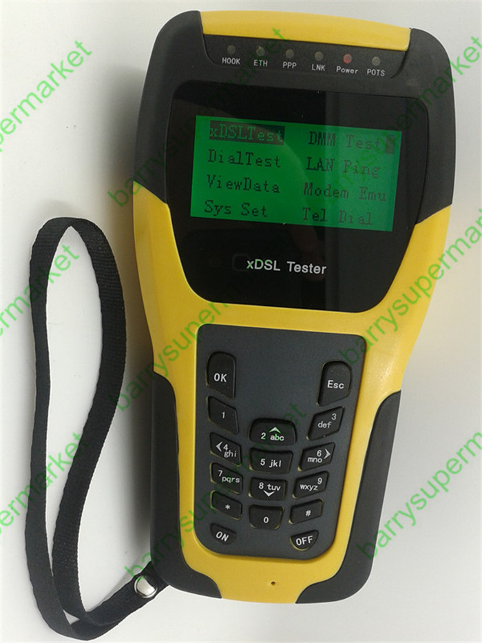 Brand New ST332B Multifunctional ADSL2+ Tester ADSL Tester ADSL Installation Maintenance Tools network analyzer
