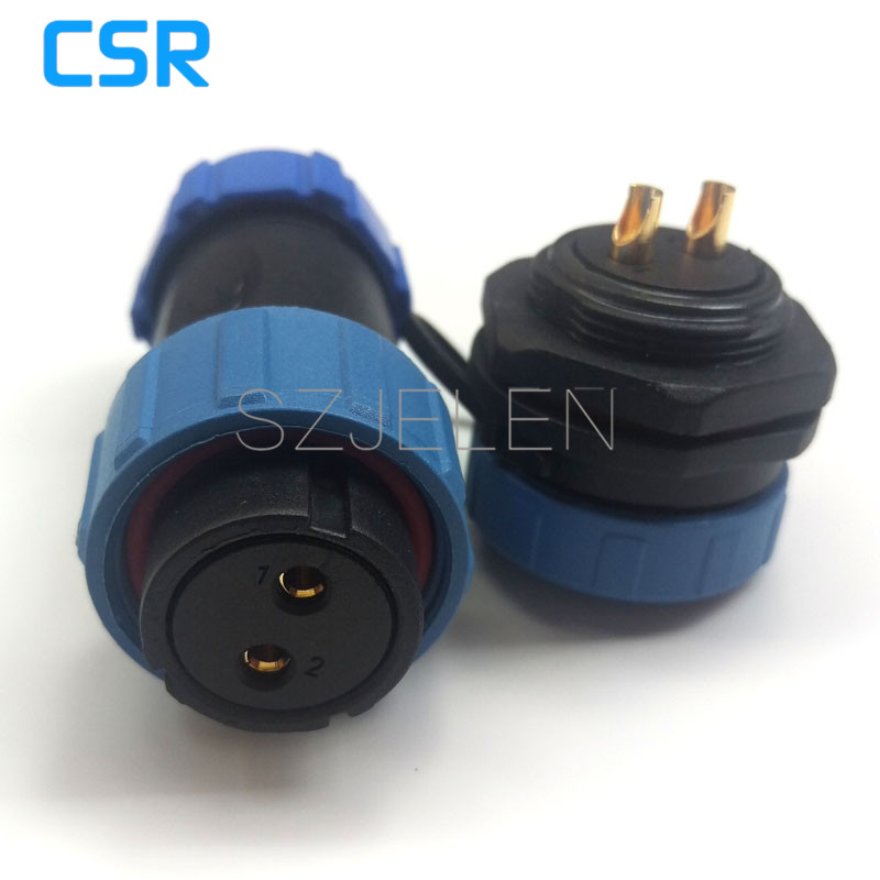 SP2110/P2-S2, 2 pin connector Waterproof, Female plug, male socket,2-pin high-voltage industrial power connector plug and socket блок управления отопителем ваз 2110 цена