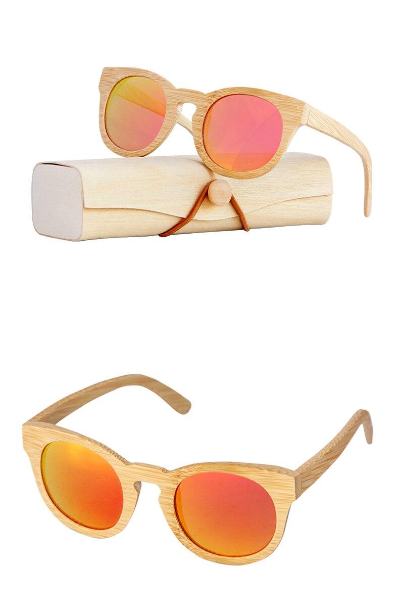 Sol Bambú Gafas A Mano Marco Hecho Hombre De Para Polarizadas Ib76vYygf