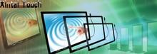 Xintai kit de superposición de pantalla Táctil de 43 pulgadas táctil multi infrarroja sin vidrio para 2 puntos de contacto con el envío rápido