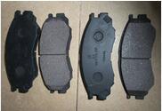 automobile FRONT brake pads MR389547 for mitsubishi l200 l300 l400 mr northjoe 0 26mm 2 5d 9h front