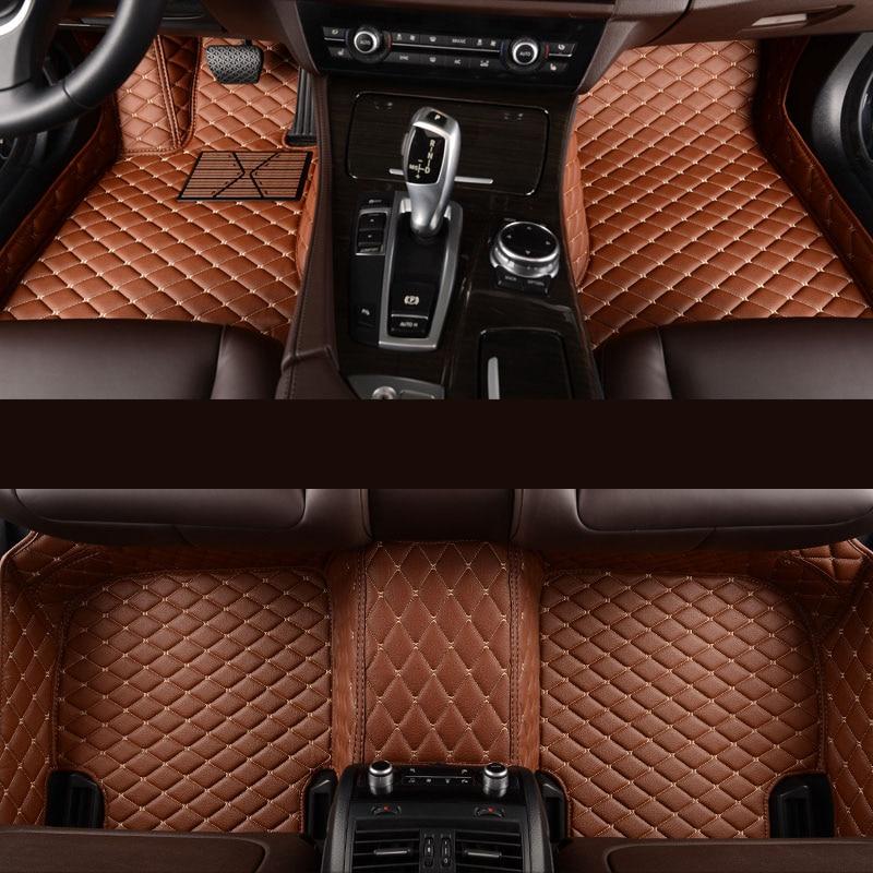 kalaisike Custom car floor mats for Ford All Models kuga ecosportcar mondeo fiesta F-150 focus Explorer Mustang car accessories yaopei 2f1e 9j460 ab for ford e 150 escape explorer f 150 focus ranger egr pressure feedback sensor 2f1e9j460ab
