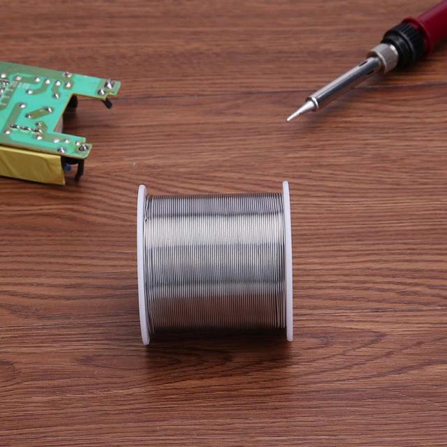 100M Solder Wire 500g 0.8mm Diam Clean Rosin Core Welding Tin Lead Solder Iron Wire Rosin Core 3% Flux Reel Soldering Tools 3