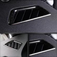 LHD для peugeot 3008 GT 2016 2017 2018/5008 GT 2017 2018 Автомобиль Верхнего AC состояние вентиляционных отверстий на выходе крышка отделка Стикеры
