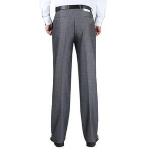 Image 2 - Plus size grote 8XL 9XL 10XL pak broek Mannen Grote maat Classic casual broek zomer Zakelijke formele kantoor Rechte broek 50 52