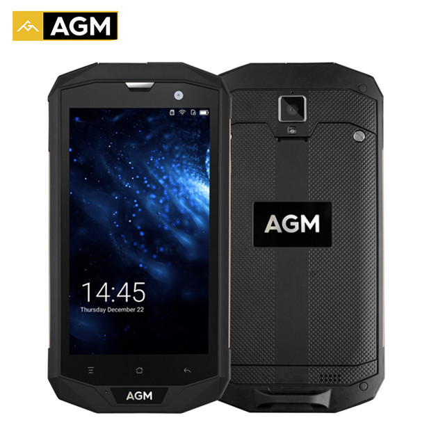 AGM A8 US Version IP68 Waterproof Phone 5.0 inch Snapdragon MSM8916 Quad Core 3GB RAM 32GB ROM 4050mAh 13MP OTG 4G Smartphone