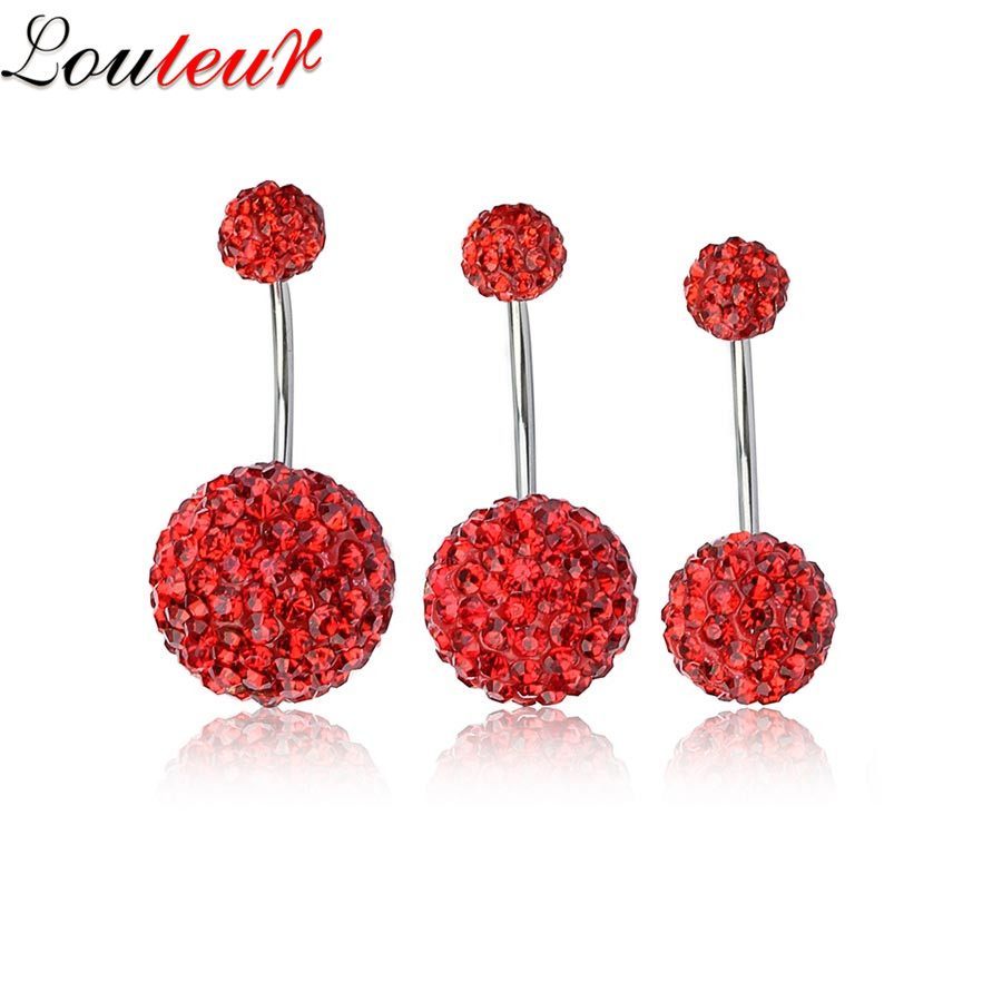 Louleur 1Pc Belly Rings Navel Piercing Body Jewelry Sexy -1908