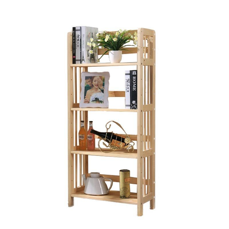 Simple bookshelf wooden racks wood landing dormitory students storage rack children combination bookcases children s bookcase shelf bookcase cartoon toys household plastic toy storage rack storage rack simple combination racks