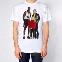 Micheal Jordan Michael Jackson Macaulay Culkin T shirt hype vintage VTG retro Bugs Bunny T-shirt King of pop top tee God shirt