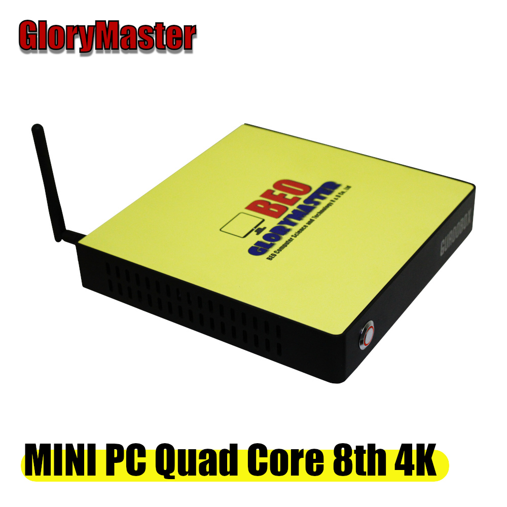 GloryMaster A8 6410 I5 CPU Niveau mini pc DDR3 SSD Quad Core mini ordinateur De Bureau HTPC WIN7 8 10 WIFI RJ45 Bureau maison 4 K