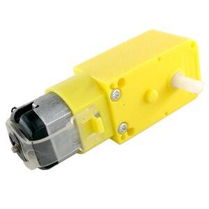 Image 3 - MCIGICM DC3V 6V DC gear Motoriduttore TT Per Robot Smart Car Chassis FAI DA TE Anti interferenza di vendita Calda