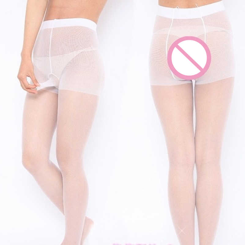 Hot Sexy Lingerie Mens Transparent Penis Sexy Underwear Fashion Pantyhose Mens Tights Silk Stockings Sexy Bodysuit Sexy Costumes