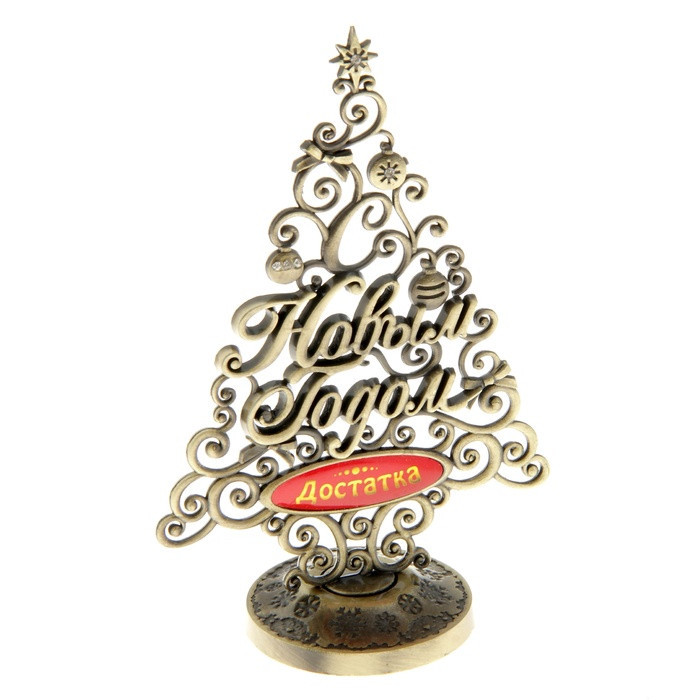 new fashion design hot metal crafts antique russian letters christmas tree christmas decorations are rich and prosperous meaning in trees from home garden - Metal Christmas Decorations