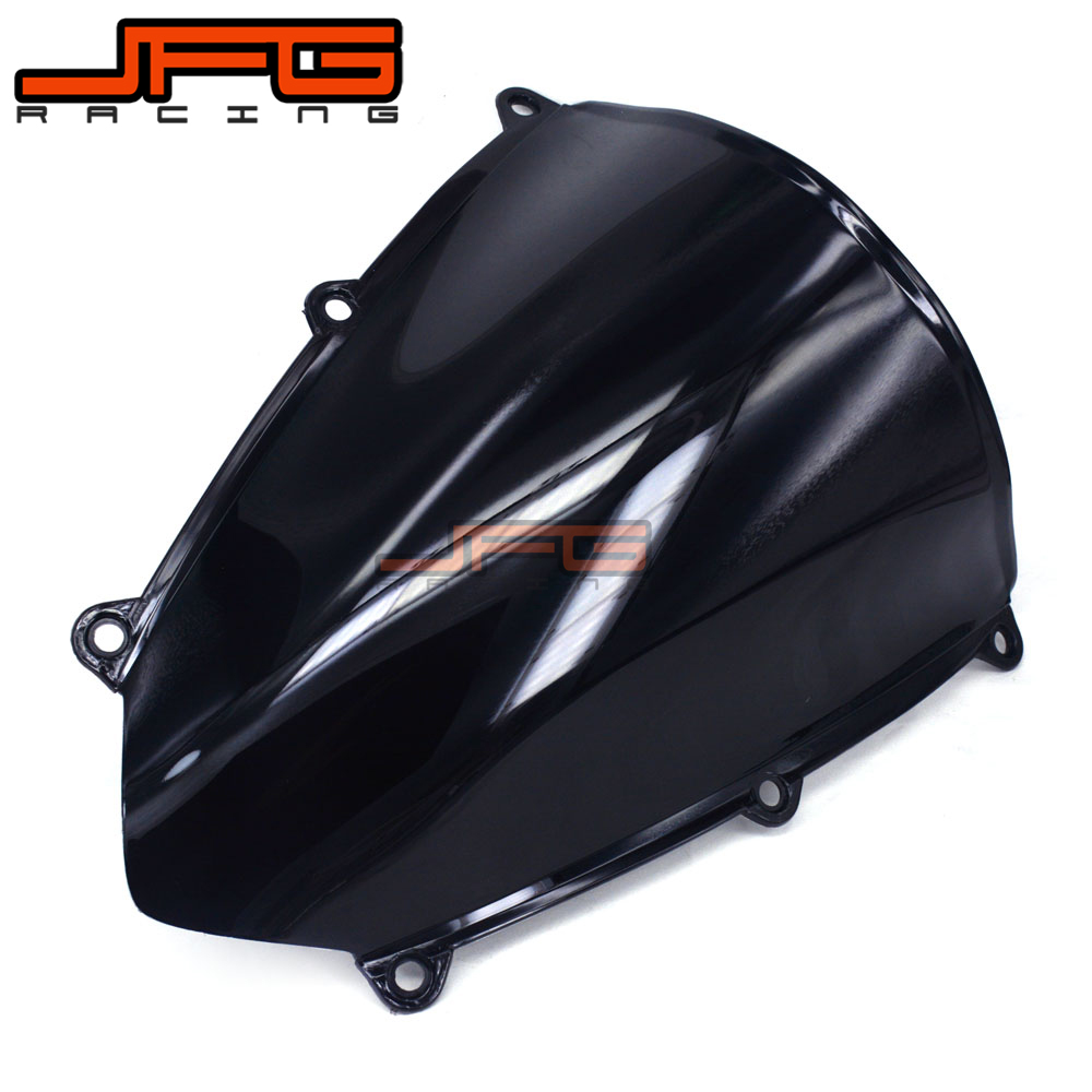 Black Windscreen Windshield for Honda CBR600 RR CBR600RR CBR 600RR F5 2007 2008 2009 2010 2011 2012 engine alternator clutch ignition cover set kit for honda cbr600rr cbr 600 rr 2007 2008 2009 2010 2011 2012 2013 2014 2015 2016