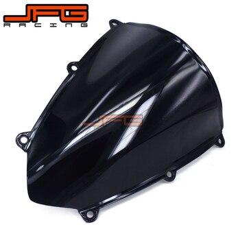 Лобовое стекло черного цвета для Honda CBR600 RR CBR600RR CBR 600RR F5 2007 2008 2009 2010 2011 2012