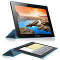 PU Кожаный Чехол Складной Стенд Крышка Shell Защитная пленка Tablet Протектор Для Lenovo A7600