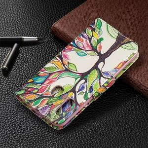 Image 3 - Fentes pour Cartes De portefeuille En Cuir étui pour samsung Galaxy Note 10 Plus S10 S9 A70 A50 A40 A30 A20 A10 M10 M20 Support Magnétique Couverture