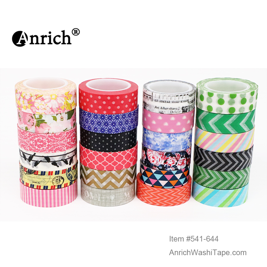 Free Shipping And Coupon Washi Tape,Anrich Washi Tape #568-#887 Bird,flower,basic Design,customizable