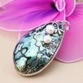 36x57mm Hot sale Prevalent abalone Natural Abalone seashells sea shells pendants making jewelry crafts Women girls gifts DIY