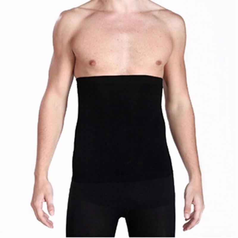 Men's Waist Belly Slimming Body Shaper Girdle Belt Cincher Underbust Corset 3