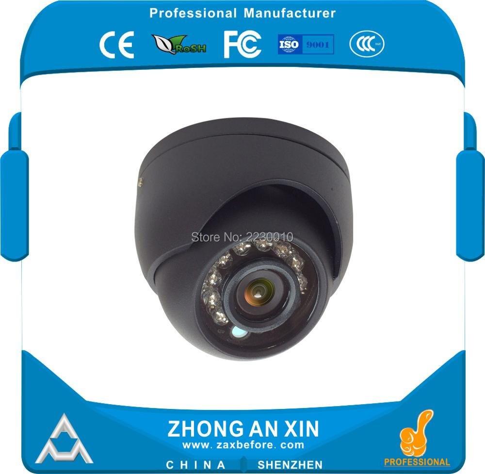 720P HD IR Infrared night vision Plastic Mini Dome Car cabin camera Vehicle security camera Bus camera 4 in 1 ir high speed dome camera ahd tvi cvi cvbs 1080p output ir night vision 150m ptz dome camera with wiper