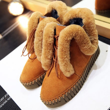 Brand New Winter Shoes Women Boots Warm Fur Shoes Flat Shoes Fall Winter Snow Boots Platform Shoes Australia Boots Women