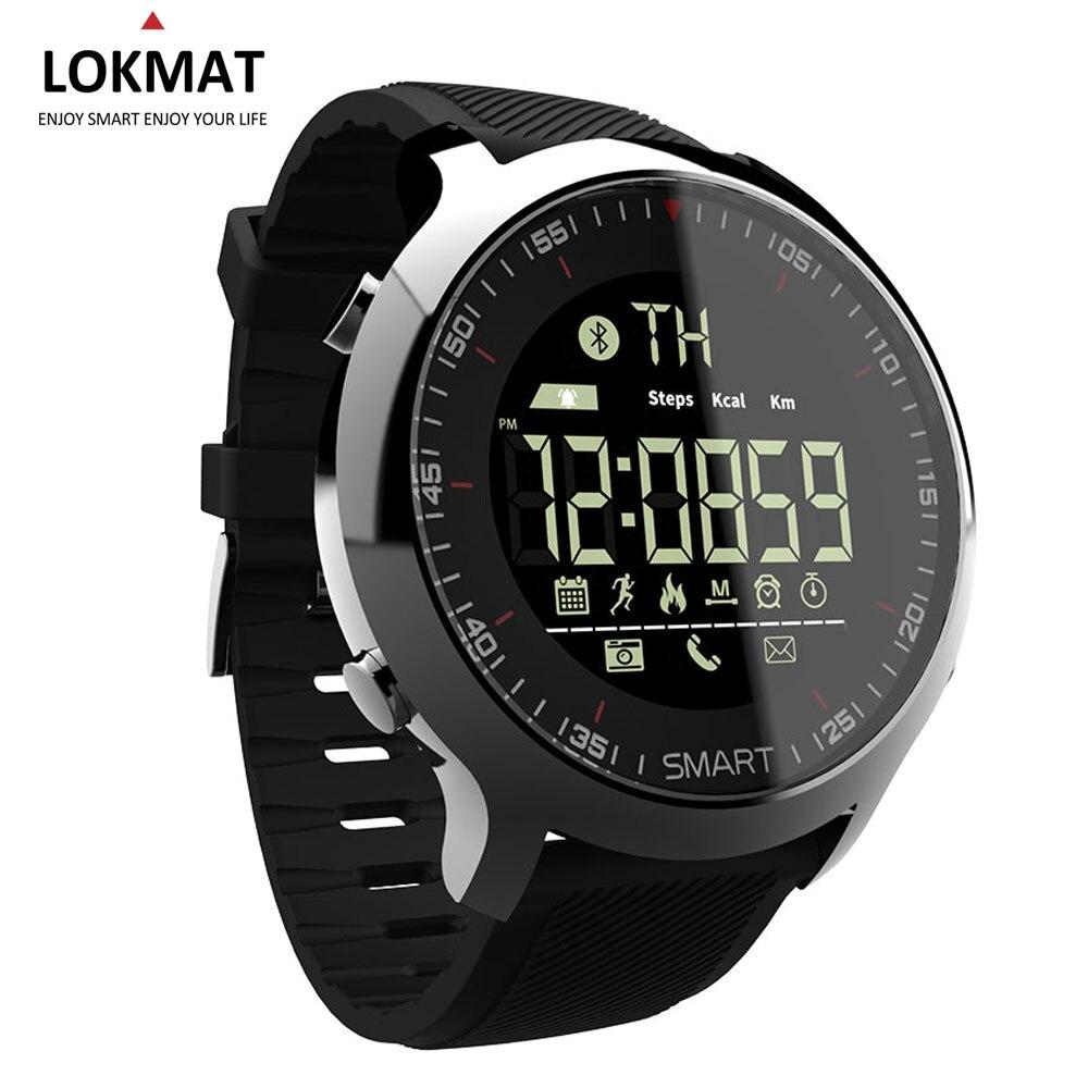 Bluetooth Montre Smart Watch Sport podomètre Étanche Appel Rappel numérique hommes SmartWatch Dispositifs Portables Pour ios Android Téléphone