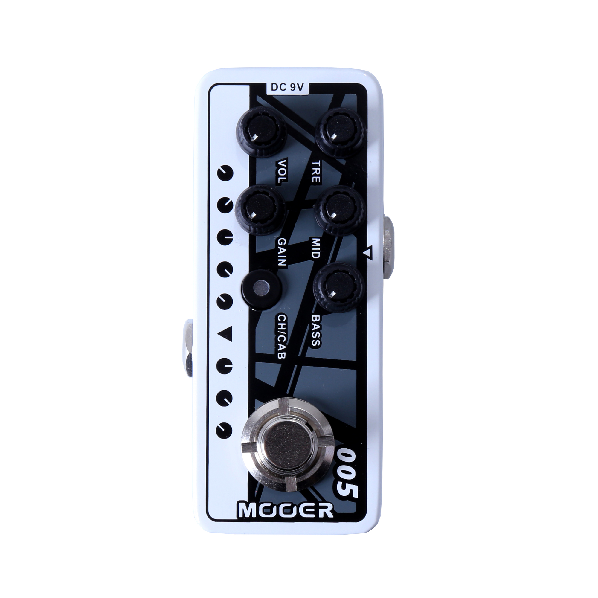 Mooer Fifty-Fifty 3 Guitar Effect Pedal Channel Preamp Micro Dual Volume Controls 3 Band EQ Gain Electric Bass 005 mooer 002 uk gold 900 micro preamp dual channel 3 band eq gain volume controls guitar effect pedal with free gift