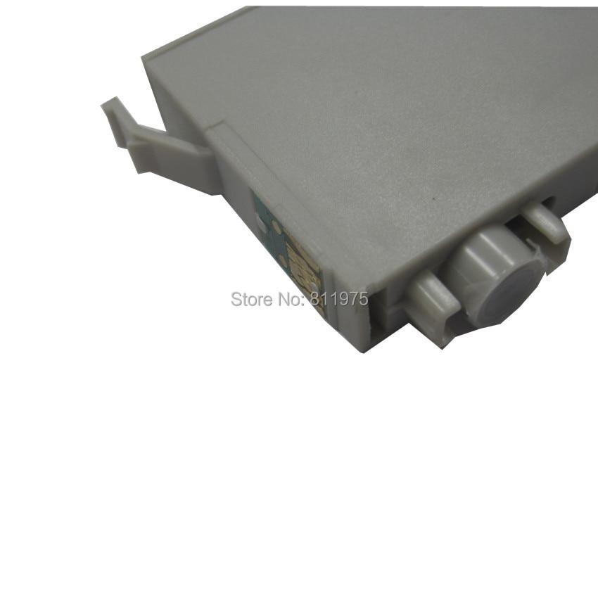 T0731 73N Sort kompatibel blækpatron til EPSON Stylus T13 TX102 - Kontorelektronik - Foto 3