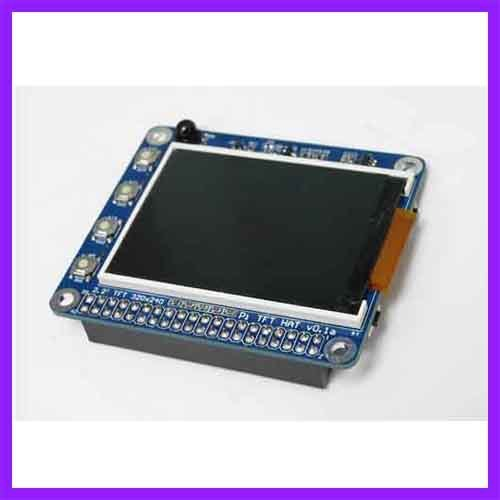 Alta PPI Con Botones Y la Función de Infrarrojos de 2.2 Pulgadas TFT de Pantalla Tarjeta de Expansión Para Raspberry Pi 2B/B +