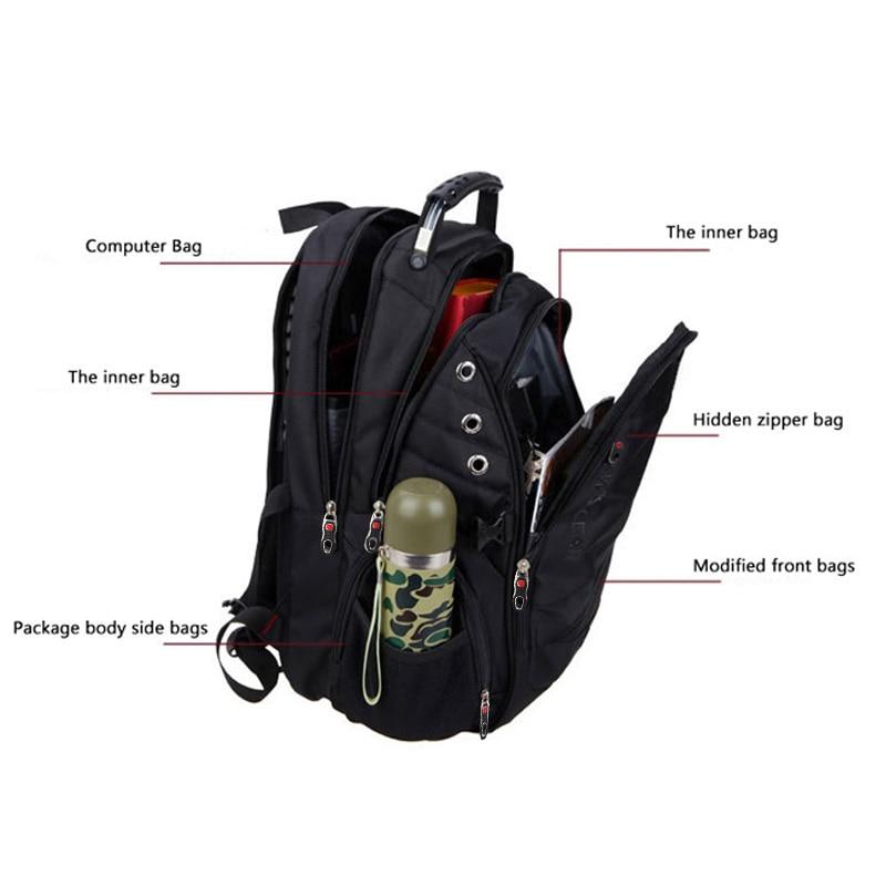 Swiss Waterproof Anti-theft Backpack  5
