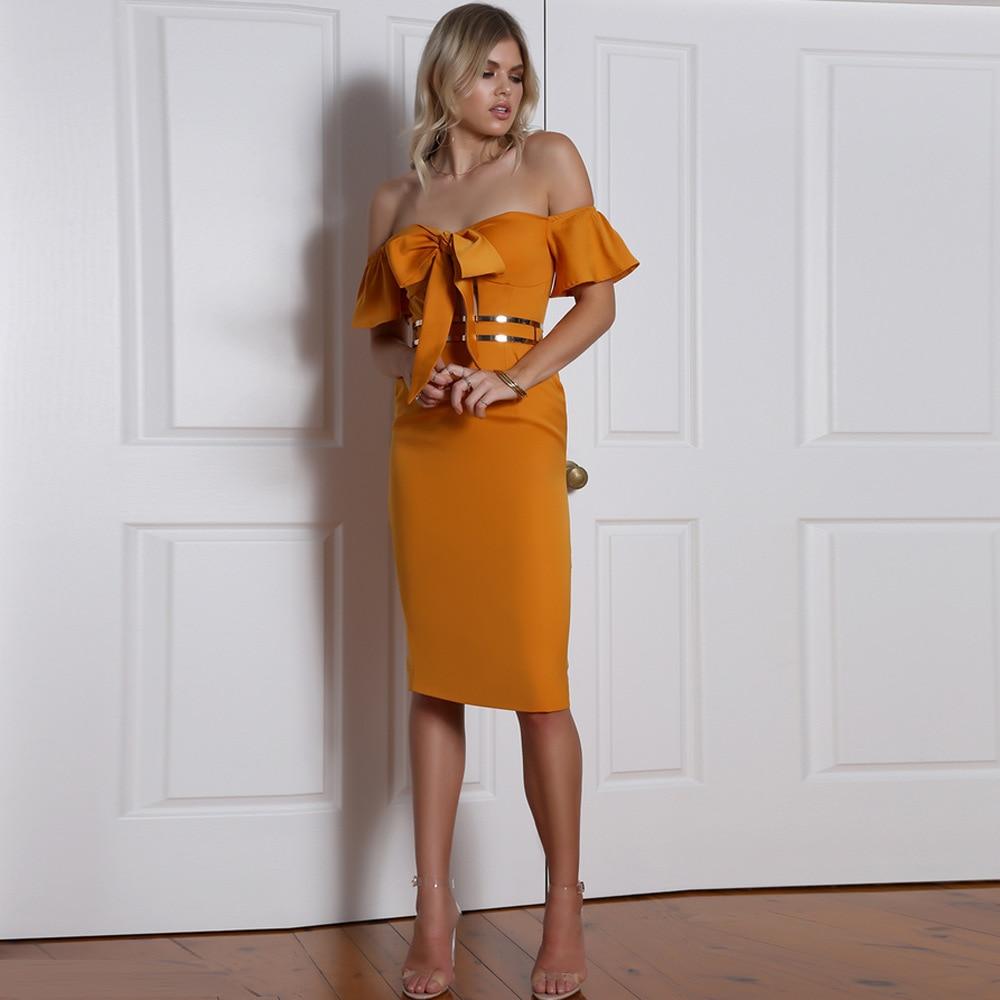 Off Shoulder Dress butterfly dress Trendy Clothes Yellow Beautiful Cheap Amazon burst Black Friday Sale Vestiti Donna Sukienka