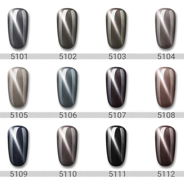 Elite99 10ml Grau Cat Eye Gel Mit Magnet Stick 3D Magnetische UV LED Gel Nagellack Semi Permanent Nagel gel Lack Nagel Kunst Gel