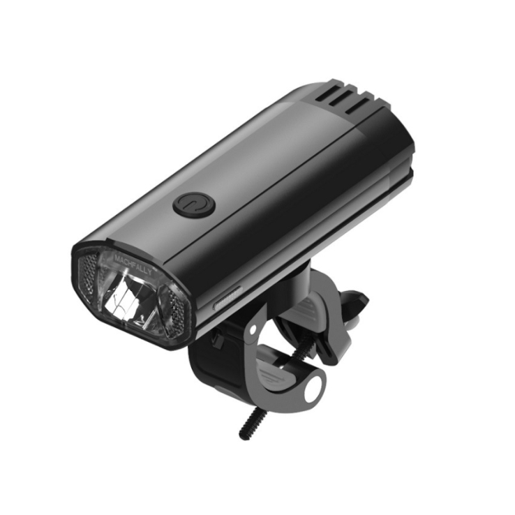 New Waterproof Rechargeable USB Bike Bicycle Cycling Front Light Headlamp Black