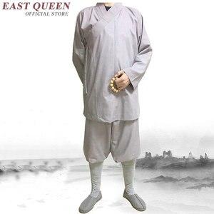 Image 2 - Стандартная буддийская одежда для монахов, традиционная китайская буддийская одежда KK1601 H